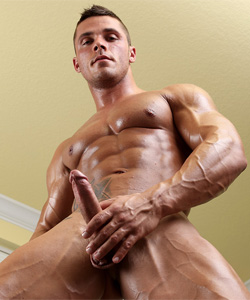 Joey Van Damme on Muscle Hunks