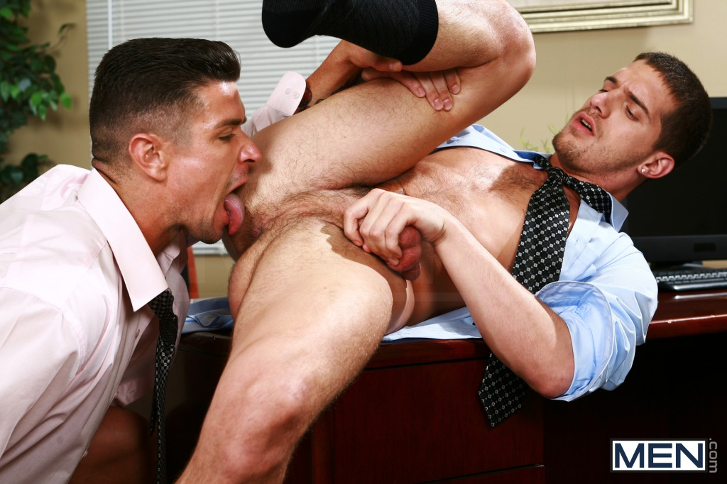 boys licking each other