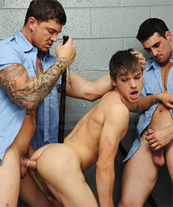 Johnny Rapid prison guard fuck