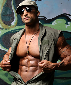 Rico Cane for Muscle Hunks