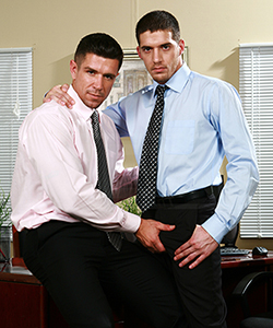 trenton and ty the gay office