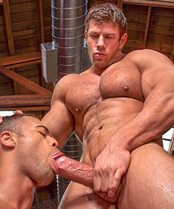 Zeb Atlas interracial on Falcon Studios